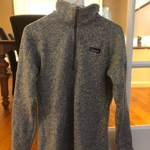 Patagonia better sweater fleece size large.
